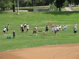 bola voli olahraga rakyat