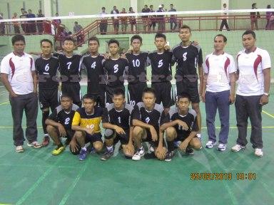 tim-bola-voli-putra-Sidoarjo-dan-Pelatih
